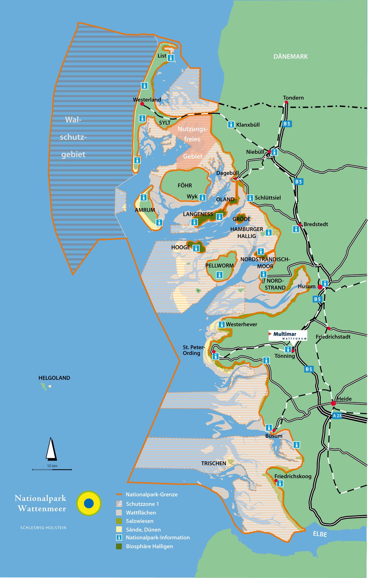 Nordfriesische Inseln Karte.Navigationsempfehlung Fur Das Nordfriesische Wattenmeer
